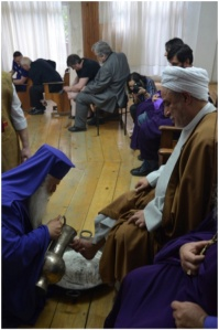 Footwashing in the Baptist Peace Catheodral