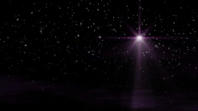 stock-footage-hd-seamless-loop-with-bethlehem-christmas-star-twinkling-stars-and-moving-wispy-clouds-in-purple
