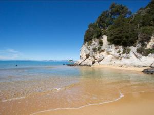 Golden-sand-beach-south-island-New-Zealand