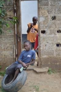 Kids in Zambia