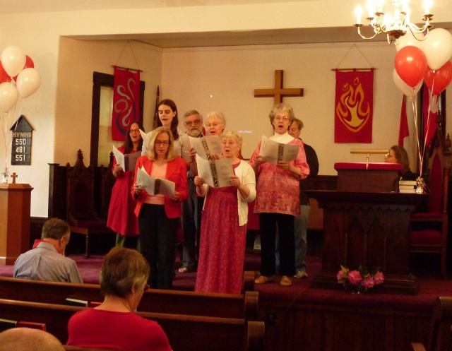 Madbury Church Choir, Pentecost