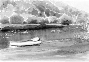 Boat on Duiwenhoks River