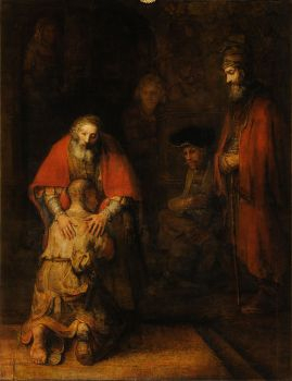 Rembrant, Return of the Prodigal Son